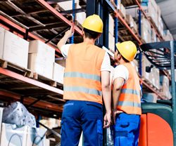 warehouses and factories
